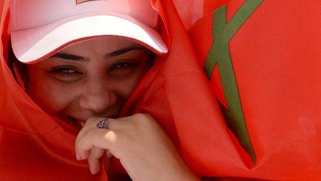 مغربية