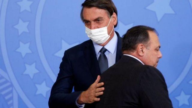 Bolsonaro com Pazuello