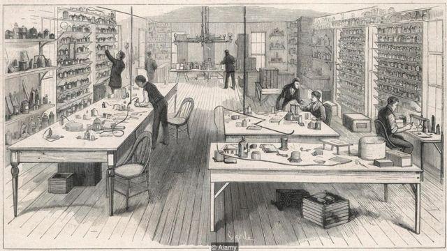 एडिसन का दफ़्तर, दफ़्तर में खुला माहौल, थॉमस अल्वा एडिसन
