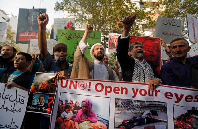 ایران کے مظاہرین