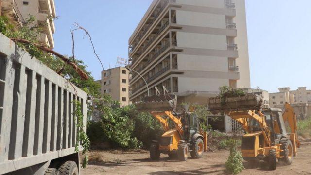 Η κατασκευή μηχανημάτων άρχισε να λειτουργεί στην περιοχή Maras.
