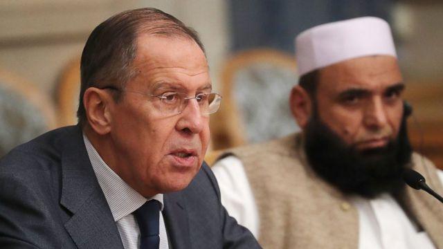Сергей Лавров провел закрытые переговоры с представителями талибов в ноябре 2018 года