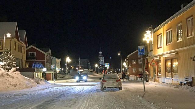 瑞典小鎮上托爾內奧
