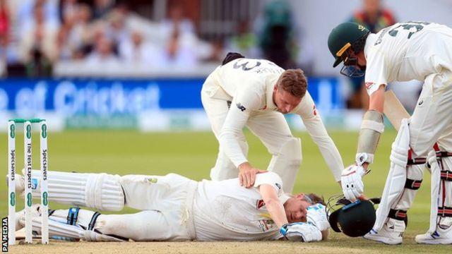 Steve Smith Australia Batsman Ruled Out Of Third Ashes Test Bbc Sport