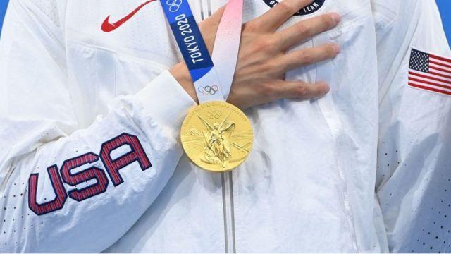 Medalla de oro de un deportista de EE.UU. en Tokio