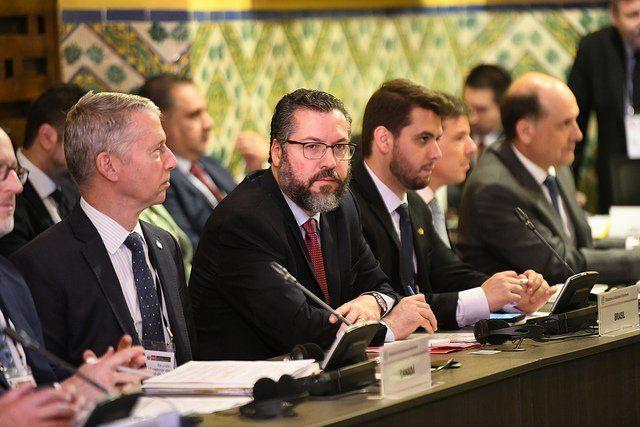 Ernesto Araújo, Filipe G. Martins em Lima