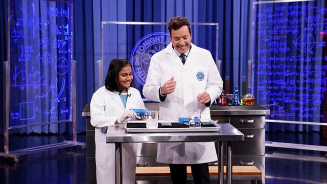 Гитанджали Рао в научном телешоу в 2018 году