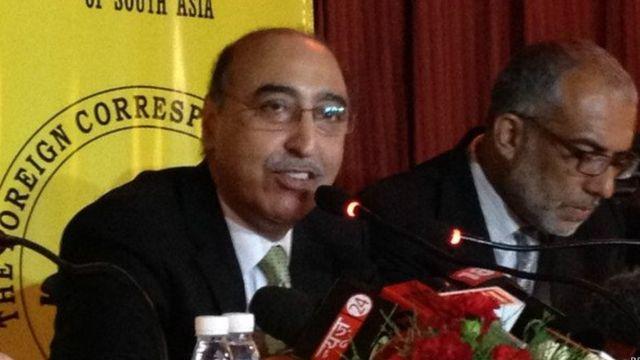 पाकिस्तान के राजदूत अब्दुल बासित