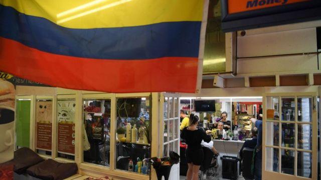 Mercado latino de Seven Sisters.