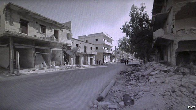 A view of Aleppo from RYOT.org's 360 degree film