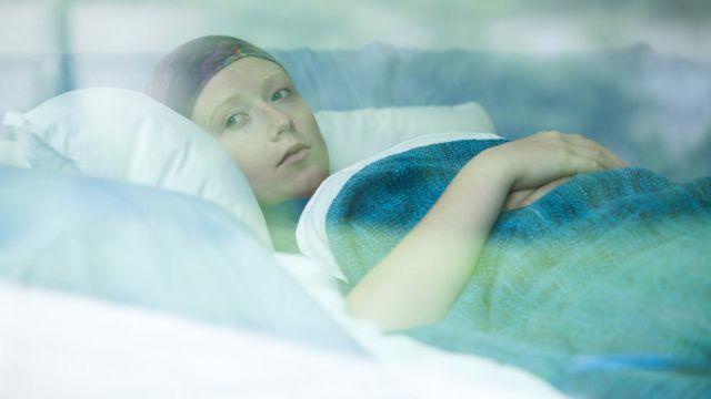 Paciente com câncer
