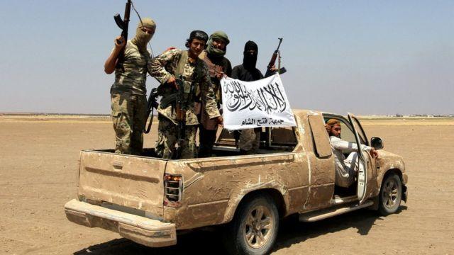 مسلحون بجبهة فتح الشام