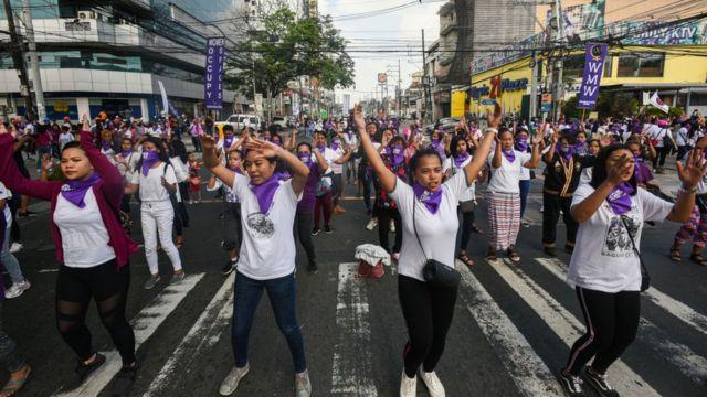 Mujeres en Filipinas