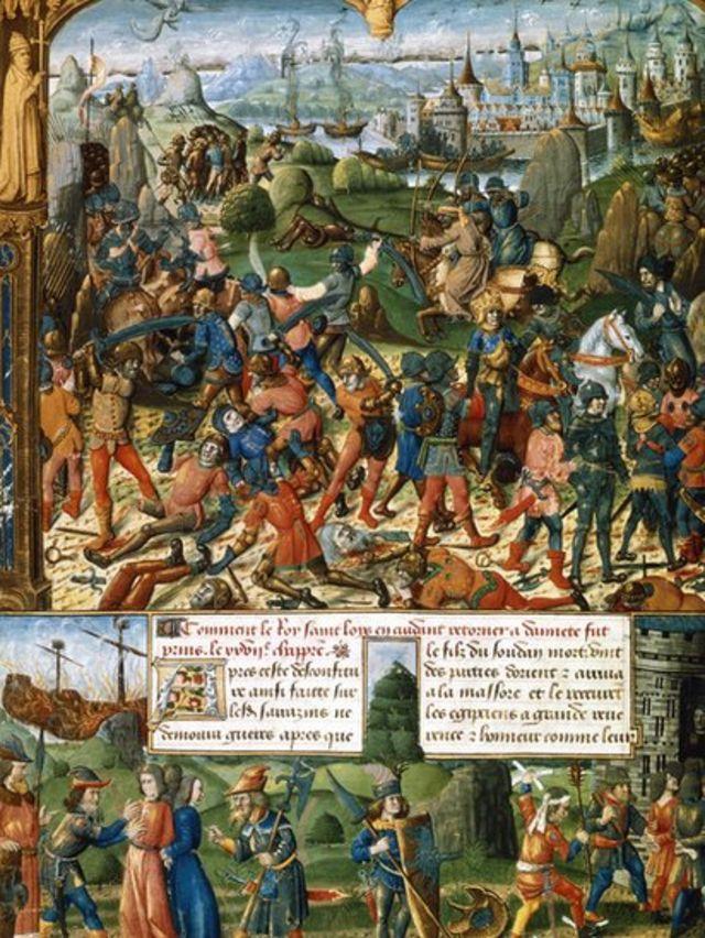 صلیبی فوج کو نہ صرف بھاری جانی نقصان کے ساتھ پسپائی اختیار کرنا پڑی بلکہ تاریخ بتاتی ہے کہ 5 اپریل کو بادشاہ لوئی اپنے بھائی اور بہت بڑی تعداد میں اپنے سپاہیوں کے ساتھ مسلمان فوج کے قیدی بن گئے