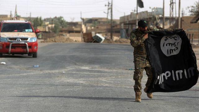 ISISનો ઝંડો