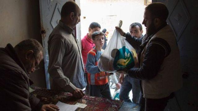 قالت الأمم المتحدة إن إمدادات الغذاء في حلب توشك على النفاد