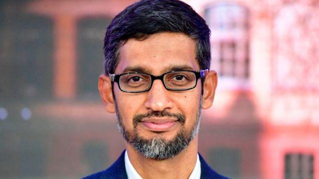 Sundar Pichai, director ejecutivo de Google.