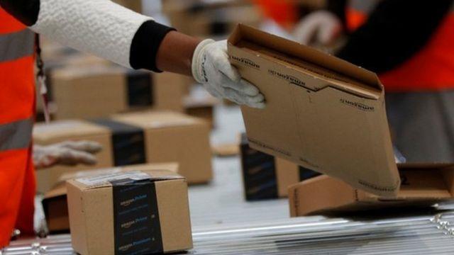 Amazon distribution centre