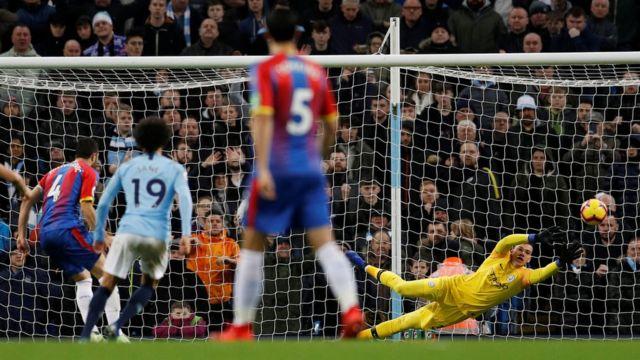 Manchester City v Palace