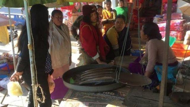 मणिपुर में महिलाएं