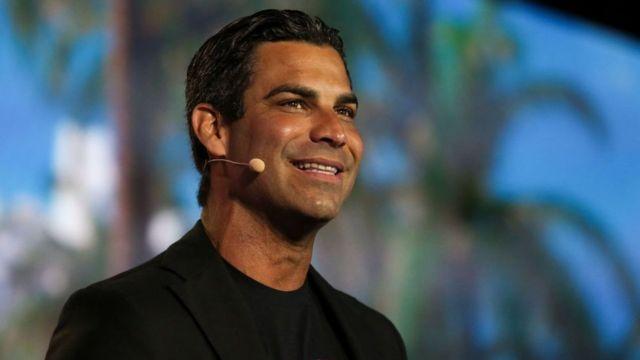 El alcalde de la ciudad de Miami, Francis Suarez.