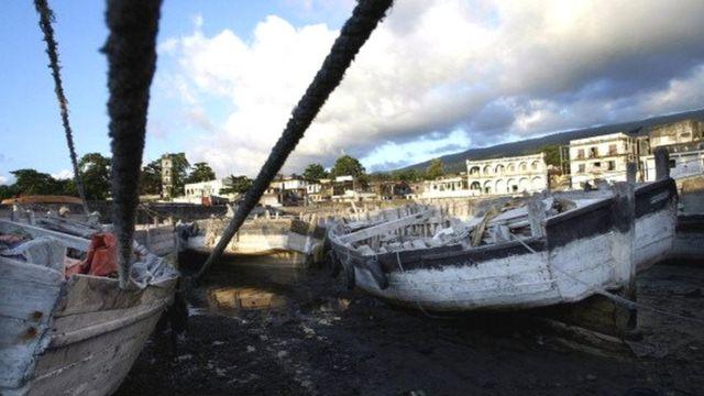 Ces embarcations typiques de l'Océan indien utilisées notamment à Mayotte