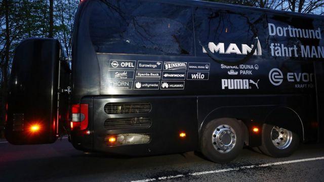 "автобус ""Боруссии"""