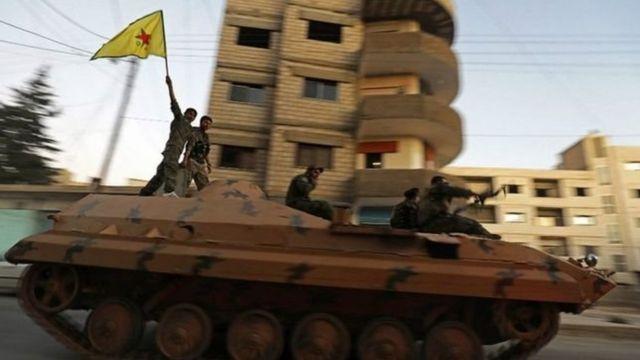وحدات حماية الشعب الكردية
