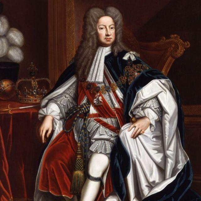 Foto do rei George I