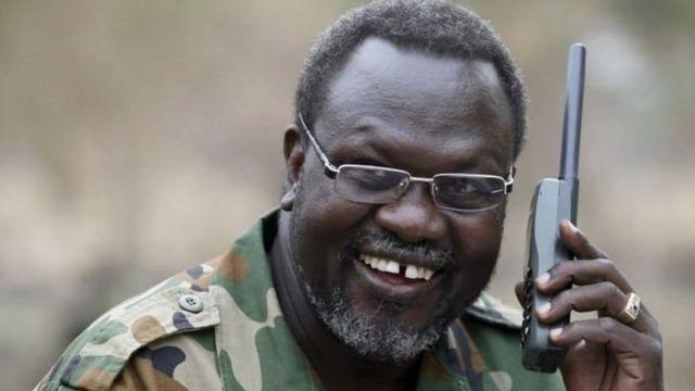 Hoggaamiyihi hore ee fallaagada South Sudan Riek Machar