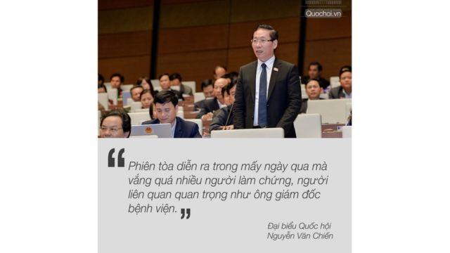 Đại biểu Quốc hội Nguyễn Văn Chiến