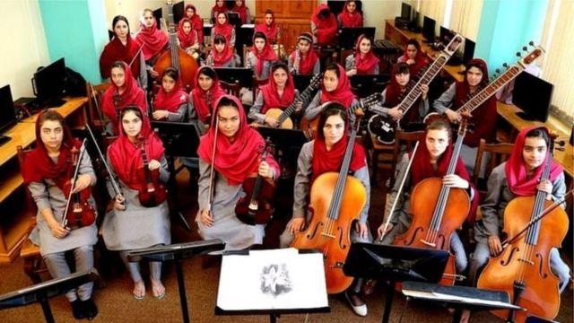 د افغانستان موسیقي ملي انسټیوټ په مسلکي ډول د کلاسیک موسیقۍ زده کړې یوازینی مرکز دی، چې ډېری زده کونکې یې نجونې او یا یتیمان دي.