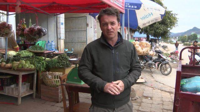 Jonah Fisher in Kokang