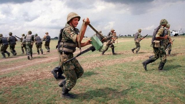 قوات روسية في داغستان