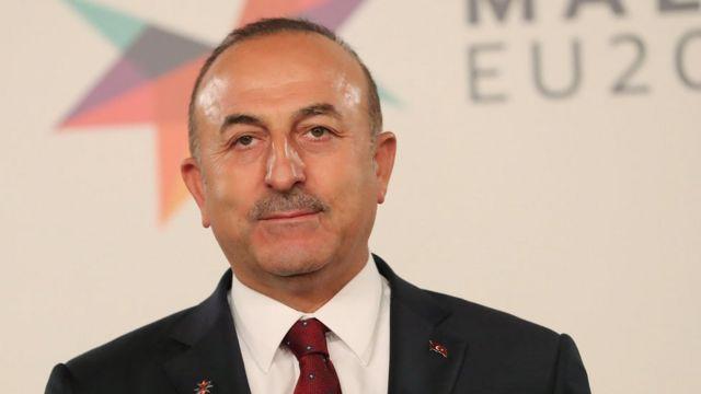 تشاووش أوغلو وزير الخارجية التركي