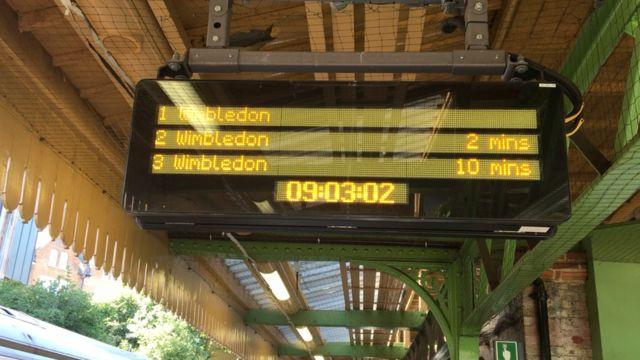Metro za Vimbldon