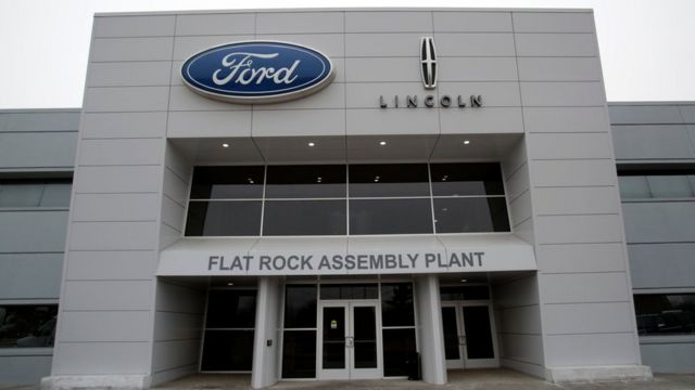 مصنع فورد في ميشيغان