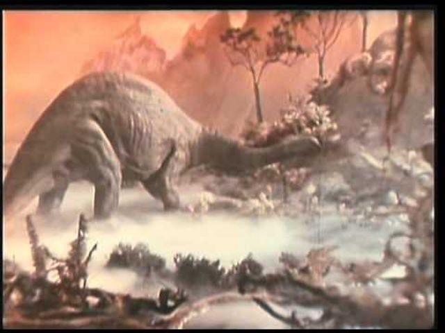 """Кадр з фільму """"Подорож на доісторичну планету"""", 1965"""