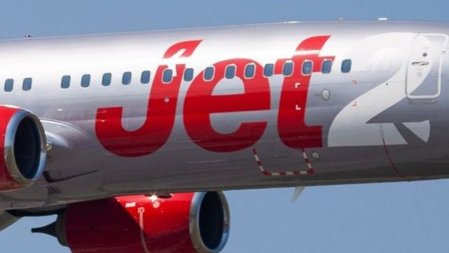 Jet2 avião - foto genérica
