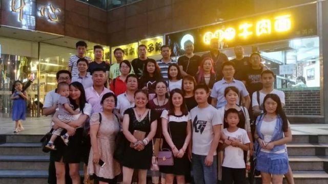 Grupo de apoyo a Xian