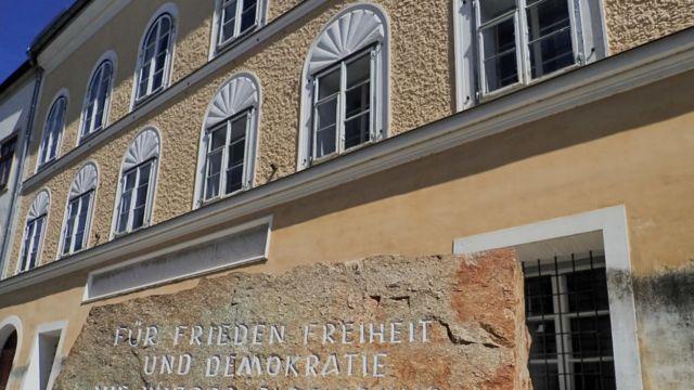 محل ميلاد هتلر