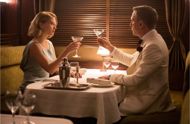 Lea Seydoux and Daniel Craig