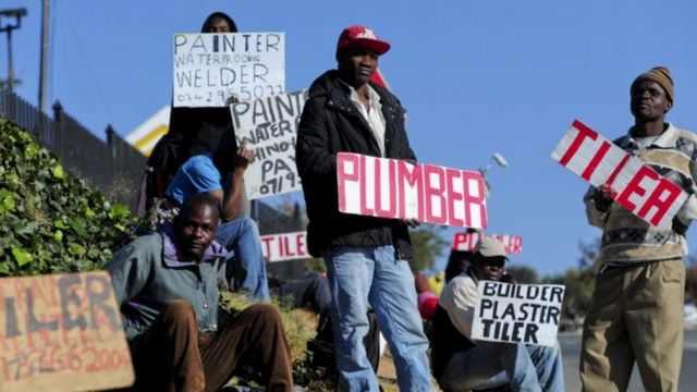 Plus de 30% des Noirs actifs n'ont pas de travail contre à peine 7% de chômeurs parmi la population blanche.
