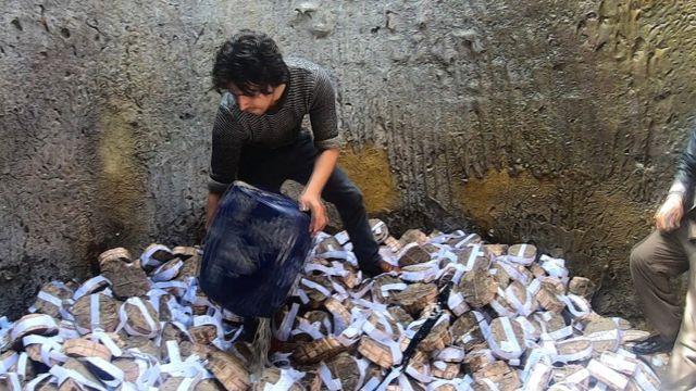 روند سوزاندن پول در افغانستان