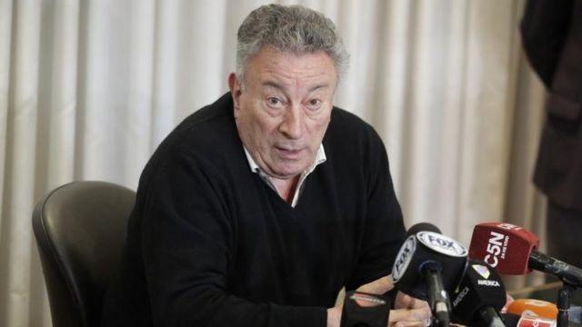 Luis Segura, presidente de la AFA, está en en el eje de la crisis del fútbol argentino.