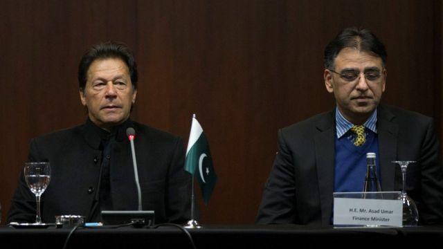 اسد عمر، عمران خان