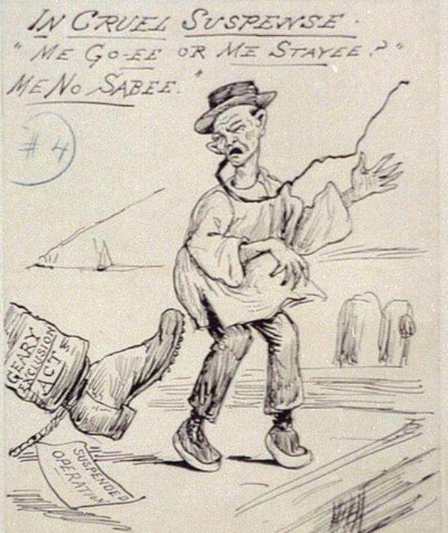 Una caricatura