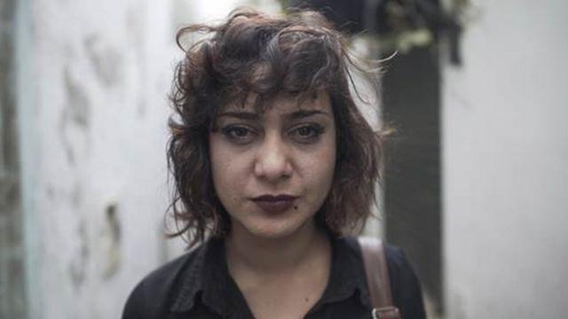 Olfa, ex-namorada de Nidhal Gharibi