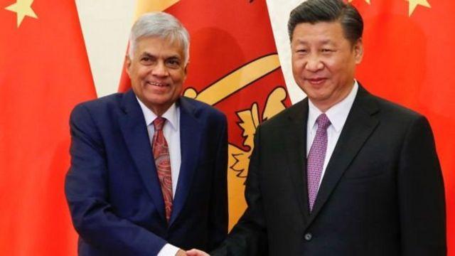 श्रीलंका और चीन