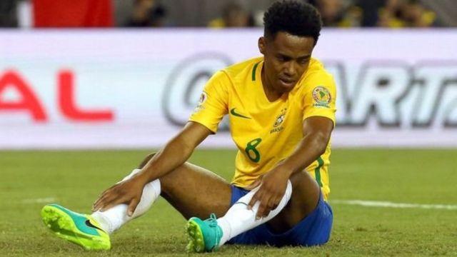La desazón de Elias refleja el actual momento del fútbol brasileño.